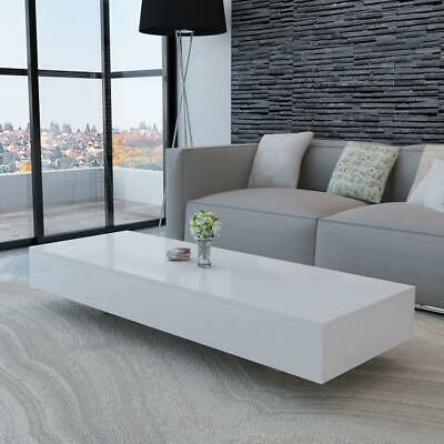 AU199.90 • Buy Modern Rectangular Living Lounge Room Furniture Coffee Table - High Gloss White