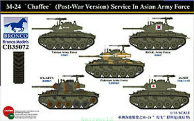 $52.43 • Buy Bronco CB35072 1/35 M24 Chaffee (Post-War) In Asian Army Force
