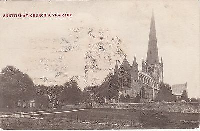 The Church & Vicarage, SNETTISHAM, Norfolk • 2.99£