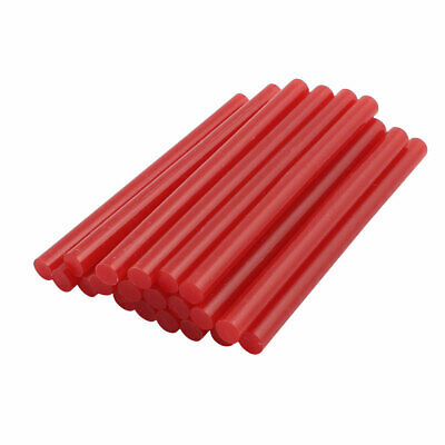 AU11.79 • Buy 20pcs 7mm X 100mm Economy Hot Melt Glue Sticks Red For DIY Small Craft Projects
