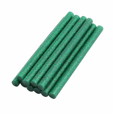 AU9.91 • Buy 10pcs 7mm X 100mm Economy Hot Melt Glue Sticks Green For DIY Small Craft Project