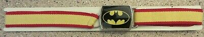 $53.32 • Buy Vintage 1960's ? Batman LEE Adjustable To Fit All Red/Yellow Kids Belt / Box 197