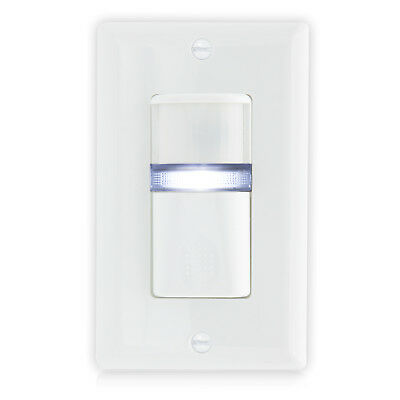 $14.99 • Buy Maxxima Occupancy Sensor Wall Switch W/ LED Night Light, Wall Plate Included