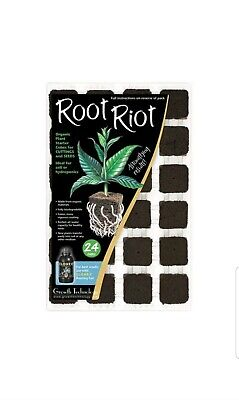 £9.95 • Buy Root Riot 24 Tray Propagation Cubes+tray. Free Delivery Best Selling Prop Cubes