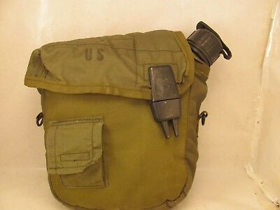 $ CDN15.02 • Buy US Army Military 2 Quart Canteen Pre Owned  With Used Cover&  Belt Clips. Nice