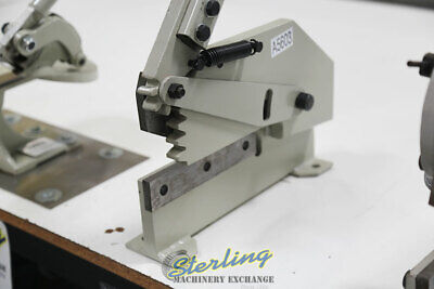 $195 • Buy 1/2  X 8 , Used (Demo Machinery) Baileigh Multi-Purpose Manually Operated Gear A