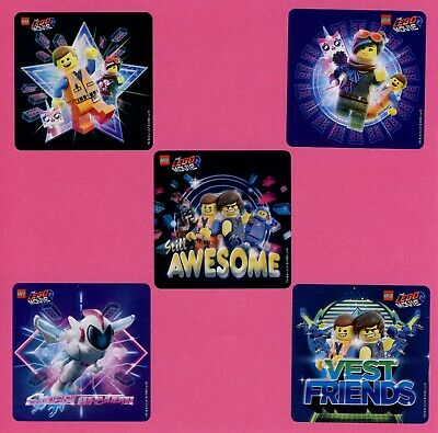 $2.50 • Buy 15 Lego Movie 2 - Large Stickers - Party Favors - Rewards