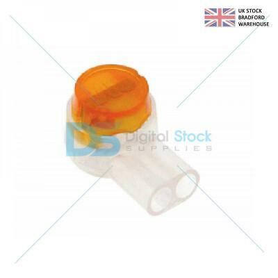 10 PACK 2 WIRE TELEPHONE JELLY CRIMPS TELECOM CONNECTOR As Used By BT Virgin • 1.55£