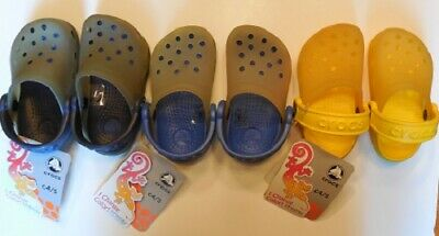 cd41c4ce030 Crocs Chameleons Translucent Clog.....toddler C4/5.
