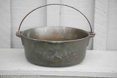 $ CDN134.24 • Buy Vintage Wagner Ware Griswold 5 Qt. Cast Iron Dutch Oven Kitchen Camping Tool USA