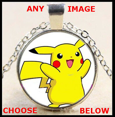 Pokemon Go Necklaces With Chain And Pendants - Party Favour Gifts Of Pikachu Etc • 0.99£