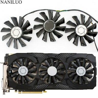 $ CDN32.83 • Buy Cooling Fan For MSI GeForce GTX 1070 1060 1080 1080Ti 980Ti Duke PLD09210S12HH