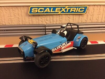 £38 • Buy Scalextric Caterham R500 C3133 Fully Serviced + Brand New Braids Excellent