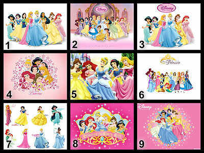 £4 • Buy Personalised Edible Disney Princess Cake Topper Icing Or Wafer Paper