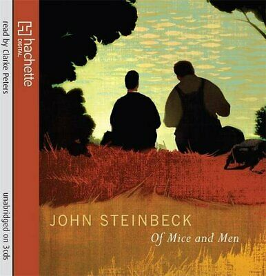 £5.49 • Buy Of Mice And Men By Steinbeck, John CD-Audio Book The Cheap Fast Free Post