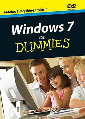 Windows 7 For Dummies [DVD] - New And Sealed Dvd • 3.99£