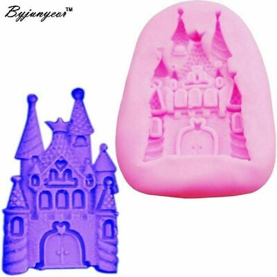 £3.99 • Buy Fairy Tale Princess Disney Castle Silicone Mould For Icing Cake Decoration