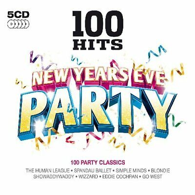 Various Artists - 100 Hits New Years Eve Party - Various Artists CD 4QVG The The • 3.49£