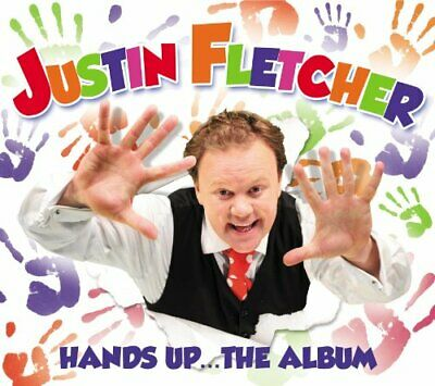 Justin Fletcher - Hands Up - The Album - Justin Fletcher CD F6VG The Cheap Fast • 3.49£