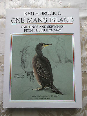 £10 • Buy Keith Brockie - One Man's Island Paintings & Drawings From The Isle Of May 1985