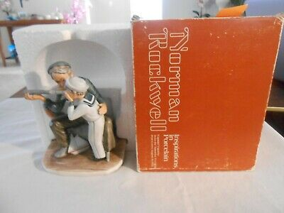 $ CDN28.32 • Buy Norman Rockwell Inspirations In Porcelain Gorham   CAPTAIN    Free Shipping