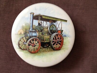 Vintage Sweet Tin With ROBEY TRACTOR 1918 ON LID • 4.99£