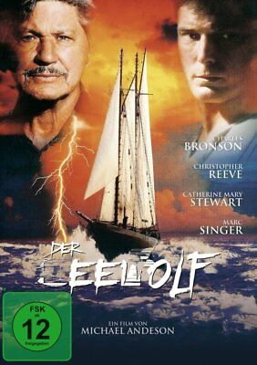 The Sea Wolf (1993) * Charles Bronson, Christopher Reeve * UK Compatible DVD New • 12.99£