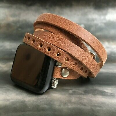 AU64.38 • Buy Fitbit  Charge 3 Fitbit Inspire Versa Handmade Genuine Leather Watch Band Strap