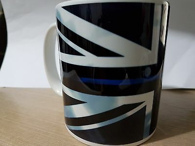 THIN BLUE LINE  Police UK 11 Oz MUG - Free Delivery + 10% To COPS Charity V3 • 7.50£