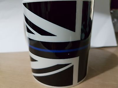 THIN BLUE LINE  Police UK 11 Oz MUG - Free Delivery + 10% To COPS Charity V2 • 7.50£