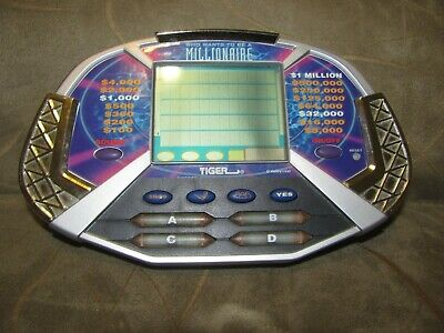 £2.45 • Buy Tiger Who Wants To Be A Millionaire Electronic Handheld Game TESTED