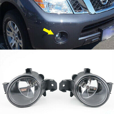 $40.98 • Buy Fits NISSAN MAXIMA/CEFIRO/TEANA 2004-2005 Front Bumper Clear Fog Lights Lamp