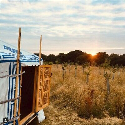 Traditional Luxury Mongolian Yurt 6.3m 6 Wall -Tipi, Ger, Canvas Tent • 6,250£