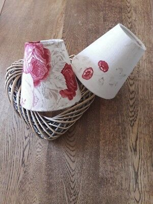 £19.95 • Buy New Candle Lampshade In All Kate Forman Designer Linen Fabrics