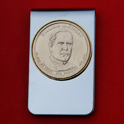 $15.95 • Buy US 2013 Presidential Dollar BU Unc Coin Money Clip NEW - William McKinley