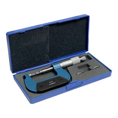 $89.77 • Buy 0-1 Inch Blade Outside Micrometer Solid Metal Frame Graduation .0001 Inch