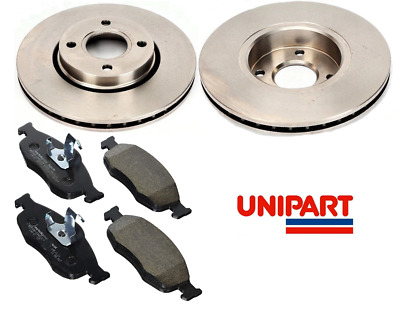 £34.95 • Buy For Ford - Cougar 2.5 1998-2002 Front Brake Discs And Pads Set Unipart