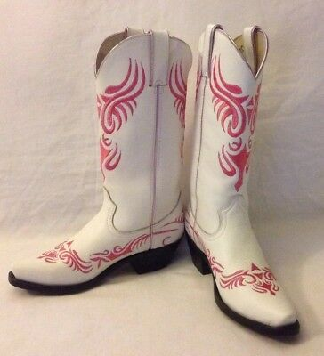 $150 • Buy Durango Crush Women's Leather Embroidered High Boots Western Cowboys.Size 6M.New