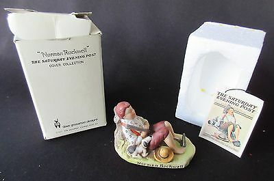 $ CDN12.41 • Buy Norman Rockwell 'Lazybones' By Dave Grossman 1979 Figurine In Original Box