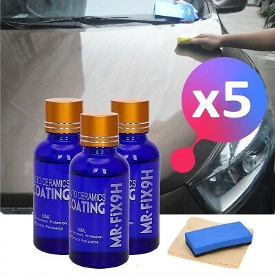 AU11.31 • Buy 9H Nano Ceramic Car Glass Coating Liquid Hydrophobic AntiScratch Auto Care SD