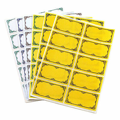 TALA Pack 60 Preserving Jam/Chutney/Marmalade Jar Self-Adhesive Labels/Stickers • 2.65£