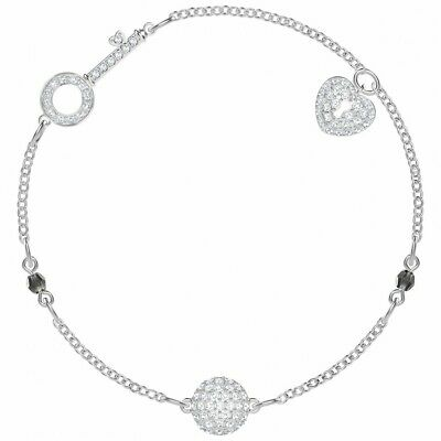4b691c72e888 Pulsera Swarovski Remix Collection Lock 5375194 Blanco Baño De Rodio •  65.52€