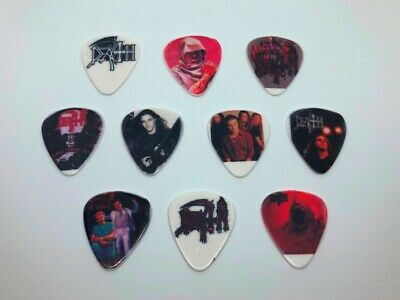 $ CDN11.38 • Buy Death Guitar Picks Set (10 Picks/10 Diferent Designs) New Sealed