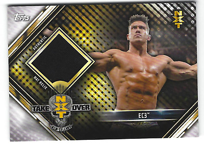 $ CDN10.46 • Buy Ec3 2019 Topps Wwe Road To Wrestlemania Nxt Takeover Mat Relic