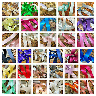 £1.75 • Buy  Premium Quality Berisfords Double Satin Ribbon Choose From Over 30 Shades