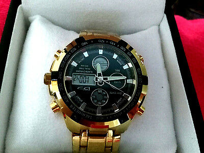 NWB - Daniel Steiger Avenger 18k Gold Filled - Mens Luxury Watch  • 170.01$