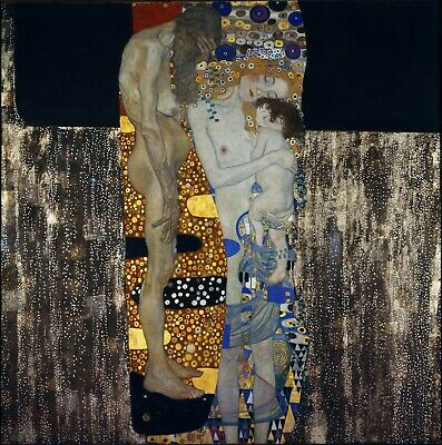 $ CDN19.99 • Buy GUSTAV KLIMT Poster Or Canvas Print  The Three Ages Of Woman