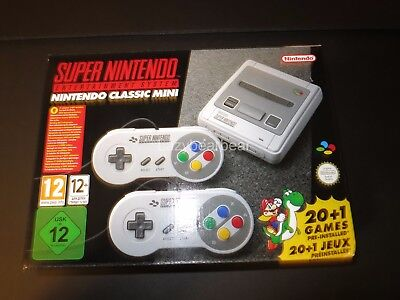 $ CDN253.85 • Buy SNES Super Nintendo Classic Mini Europe Japan Asia Entertainment System Console