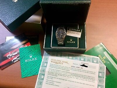 $ CDN19433.63 • Buy NOS Rolex Explorer I Ref 5500 Stainless Steel Rolex Full Set Box And Paper -5513