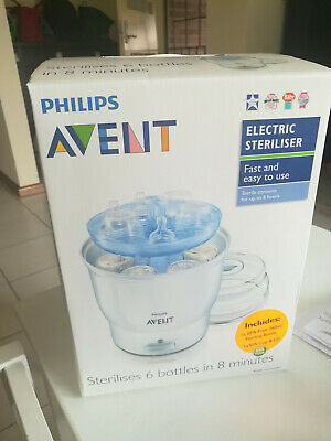 AU25 • Buy Philips Avent Electric Steriliser (white) - 6 Bottles In 8 Minutes.
